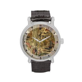 Gustave Moreau- The Pierides Wrist Watch