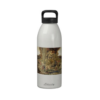 Gustave Moreau- The Pierides Water Bottles