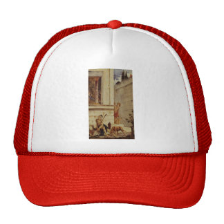 Gustave Moreau: The Wicked Rich & the Poor Lazarus Trucker Hat