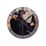 Gustavo Caillebotte- la lección de piano Relojes
