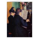 Gustavo Caillebotte- la lección de piano Felicitacion