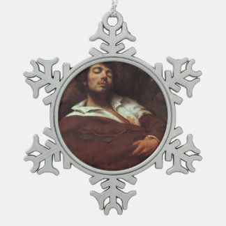 Gustavo Courbet- el hombre herido Adorno