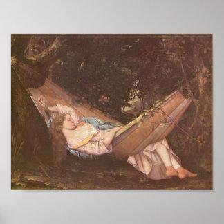 Gustavo Courbet- la hamaca Impresiones