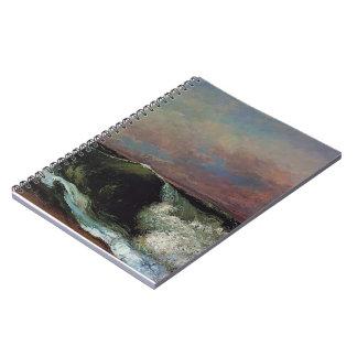 Gustavo Courbet- la onda Libretas Espirales