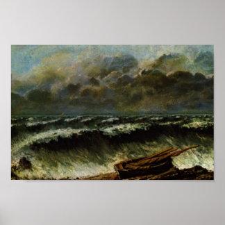 Gustavo Courbet- las ondas Impresiones