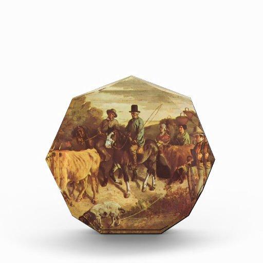 Gustavo Courbet- los campesinos de la vuelta de Fl