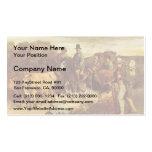 Gustavo Courbet- los campesinos de la vuelta de Fl Tarjeta De Visita