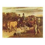 Gustavo Courbet- los campesinos de la vuelta de Fl Postales