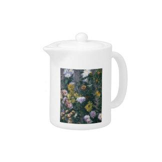 Gustavo crisantemos blancos y amarillos de Cailleb