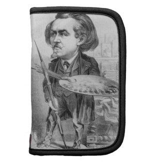 Gustavo Dore 1832-83 caricatura de Le Boulev Planificadores