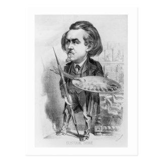 Gustavo Dore (1832-83), caricatura de 'Le Boulev Postal