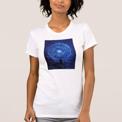 Gustavo Dore la camiseta (azul) del rosa blanco