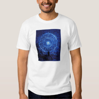 Gustavo Dore la camiseta (azul) del rosa blanco Playera