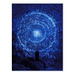 Gustavo Dore la postal (azul) del rosa blanco