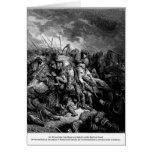 Gustavo Dore: Richard I en batalla en Arsuf en 119 Tarjetas