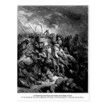 Gustavo Dore: Richard I en batalla en Arsuf en 119 Tarjetas Postales