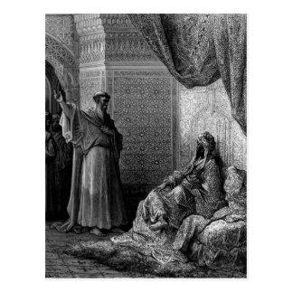 Gustavo Dore: St Francis de Assisi Tarjeta Postal