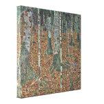 Gustavo Klimt - abedul Impresiones De Lienzo