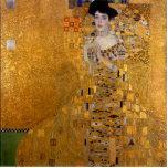 Gustavo Klimt - Adela Bloch-Bauer I. Esculturas Fotograficas