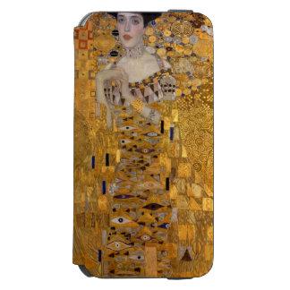 Gustavo Klimt - Adela Bloch-Bauer I. Funda Billetera Para iPhone 6 Watson