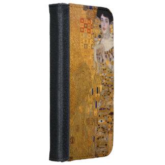 Gustavo Klimt - Adela Bloch-Bauer I. Funda Cartera Para iPhone 6