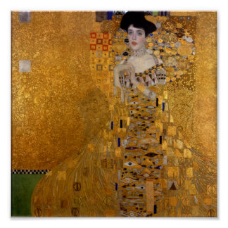 Gustavo Klimt - Adela Bloch-Bauer I. Poster