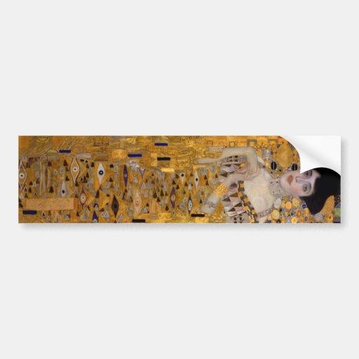 Gustavo Klimt - Adela Bloch-Bauer I. Pegatina Para Auto