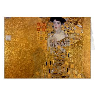 Gustavo Klimt - Adela Bloch-Bauer I. Tarjeta De Felicitación