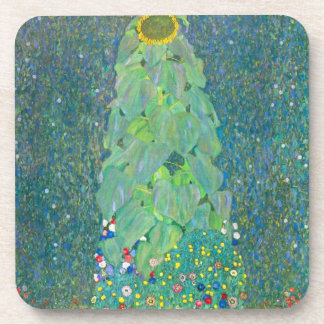 Gustavo Klimt arte floral Nouveau del vintage del Posavasos