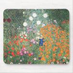 Gustavo Klimt Blumengarten Tapete De Raton