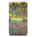 Gustavo Klimt: Casa de campo en el Attersee Droid RAZR Funda