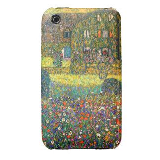 Gustavo Klimt: Casa de campo en el Attersee iPhone 3 Carcasas