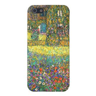 Gustavo Klimt: Casa de campo en el Attersee iPhone 5 Carcasa