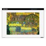 Gustavo Klimt: Casa de campo en el Attersee Skins Para 38,1cm Portátiles