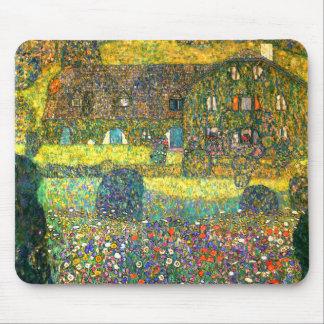 Gustavo Klimt: Casa de campo en el Attersee Tapete De Ratón