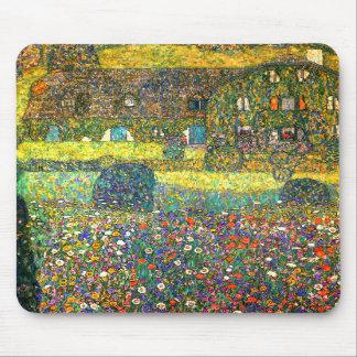 Gustavo Klimt: Casa de campo en el Attersee Alfombrillas De Raton