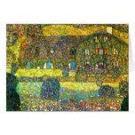 Gustavo Klimt: Casa de campo en el Attersee Tarjetas