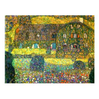 Gustavo Klimt Casa de campo en el Attersee Tarjetas Postales