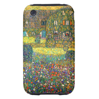 Gustavo Klimt: Casa de campo en el Attersee Tough iPhone 3 Carcasa
