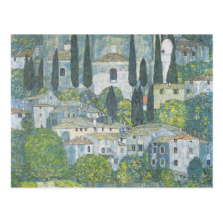 Gustavo Klimt- Chruch en Cassone Postal