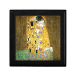 Gustavo Klimt el arte Nouveau del beso Cajas De Joyas