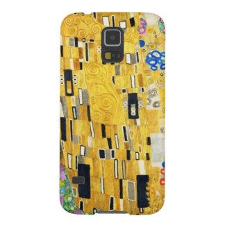 Gustavo Klimt el arte Nouveau del beso Carcasas Para Galaxy S5