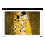 Gustavo Klimt el arte Nouveau del beso Portátil Calcomanías