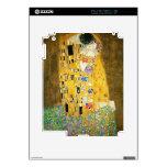 Gustavo Klimt el arte Nouveau del beso Calcomanías Para El iPad 2