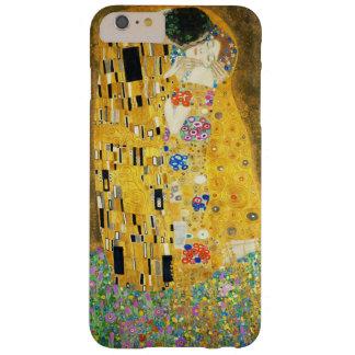Gustavo Klimt el arte Nouveau del vintage del beso Funda De iPhone 6 Plus Barely There