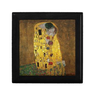 Gustavo Klimt el beso Caja De Regalo