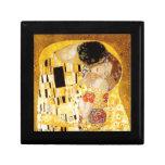 Gustavo Klimt el beso Cajas De Recuerdo