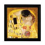 Gustavo Klimt el beso Cajas De Regalo