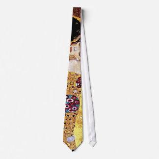 Gustavo Klimt - el beso Corbatas Personalizadas