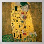 Gustavo Klimt //el beso //Der Kuss Impresiones